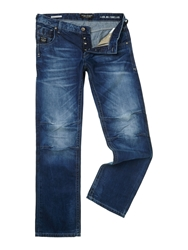 Jack And Jones Boxy Powell Jj 668 Loose Fit Jeans Blue