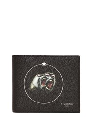 Givenchy Monkeys Printed Faux Leather Wallet