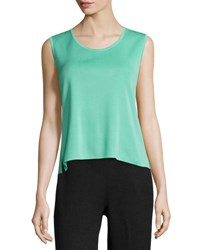 Ming Wang Scoop Neck Knit Tank Ses