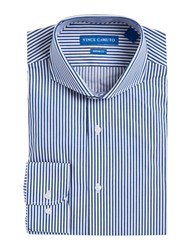 Vince Camuto Striped Dress Shirt Indigo