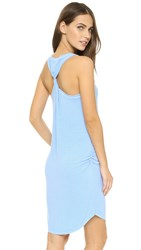 Feel The Piece Plex Dress Skyline