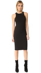 Getting Back To Square One Racer Dress Black
