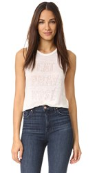 Chloe Oliver Eat Pray Rose Tank Neutral