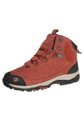 Jack Wolfskin Monto Hike Mid Texapore Walking Boots Earth Orange Light Red