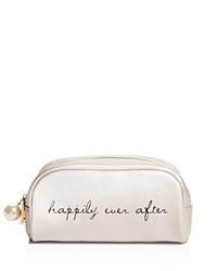Deux Lux Happily Ever After Cosmetic Bag Compare At 35 Silver