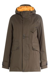 Kenzo Parka With Detachable Inner Jacket Green