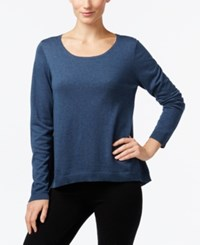 Eileen Fisher Scoop Neck Sweater Fir