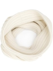 Maiyet Knitted Snood Nude Neutrals