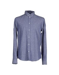 Cheap Monday Shirts Shirts Men Blue