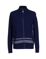 Woolrich Knitwear Cardigans Men Dark Blue