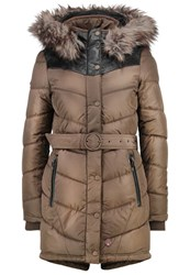 Khujo Lubeck Winter Coat Olive