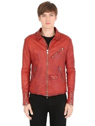 Giorgio Brato Glove Nappa Leather Jacket