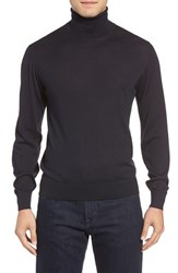 Luciano Barbera Men's Cashmere And Silk Turtleneck Sweater