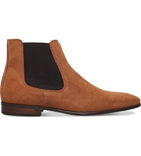 Kg By Kurt Geiger Francis Suede Chelsea Boot Tan