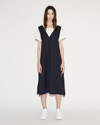 Maison Martin Margiela Garment Washed Dress Indigo