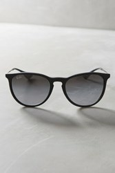 Anthropologie Ray Ban Erika Matte Sunglasses Black