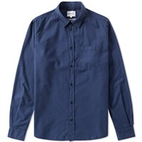 Norse Projects Anton Light Oxford Shirt Blue