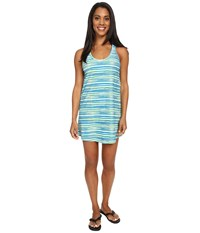 Lole Buena 2 Tunic Cover Up Aruba Blue Stripe Women's Swimwear