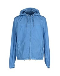 Seventy By Sergio Tegon Coats And Jackets Jackets Men Pastel Blue