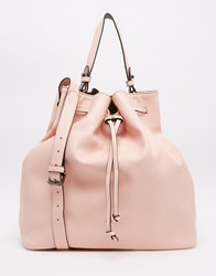 Paul's Boutique Cora Drawstring Duffle Bag Pink