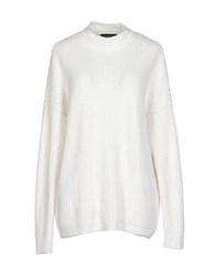 Selected Femme Knitwear Turtlenecks Women White