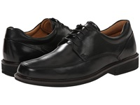Ecco Holton Apron Toe Tie Black Men's Plain Toe Shoes