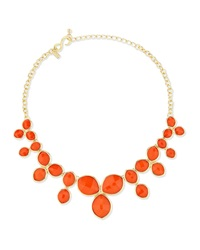 Cluster Bib Necklace Kenneth Jay Lane