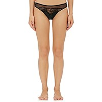 Stella Mccartney Women's Ellie Leaping Leopard Print Briefs Green