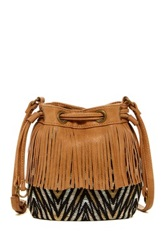 Carlos Santana Dulce Mini Drawstring Crossbody Brown