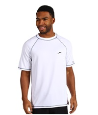 Speedo Easy S S Swim Tee White Men's Swimwear