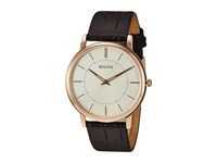 Bulova Classic 97A126 Cream Rose Gold Watches Beige