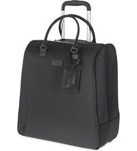Lipault Lady Plume Rolling Tote Anthracite Grey