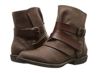 Blowfish Alias Coffee Texas Pu Whiskey Dyecut Pu Women's Boots Brown