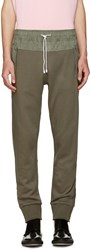 Tim Coppens Green French Terry Lounge Pants