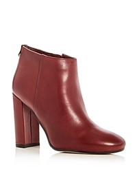 Sam Edelman Campbell High Heel Booties Red