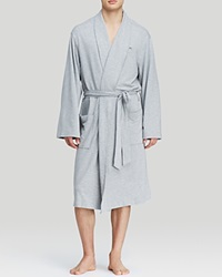 Michael Kors Modal French Terry Robe Gray Heather