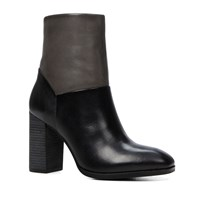 Aldo Catheryn Stacked Heel Ankle Boots Black