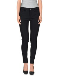 Genetic Denim Trousers Casual Trousers Women Black