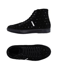 Alessandro Dell'acqua Footwear High Tops And Trainers Women Black