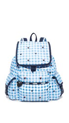 Le Sport Sac Disney X Lesportsac Voyager Backpack Checks And Bows