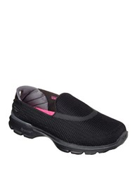 Skechers Go Walk 3 Wide Athletic Sneakers Black