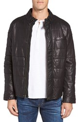 Jeremiah Men's Ace Quilted Leather Jacket