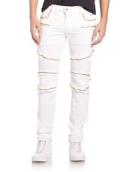 Robin's Jeans Rock Style Jeans White