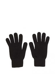 Johnstons Of Elgin Cashmere Mens Gloves Black