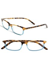 Women's Kate Spade New York 'Jodie' 48Mm Reading Glasses Havana Teal