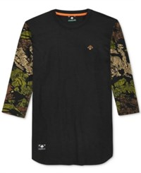 Lrg Men's El Tigre Baseball Jersey Shirt Black