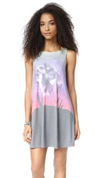 Wildfox Couture Lone Wolf Tank Dress Multi
