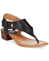 Tommy Hilfiger Kitty Block Thong Sandals Women's Shoes