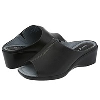 David Tate Gloria Black Women's Sandals