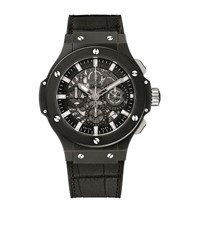 Hublot Aero Bang Black Magic Ceramic Skeleton Watch Unisex